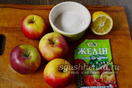 ингредиенты для конфитюра
