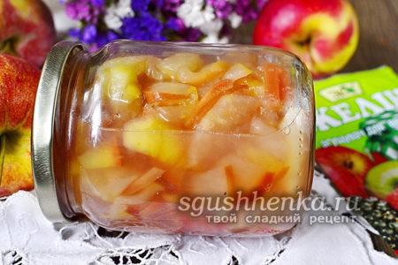 обалденный конфитюр из яблок