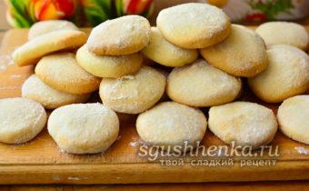 """Вкусное и воздушное печенье """" Тающий снег"""""""