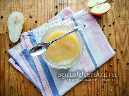 вкусное фруктовое пюре