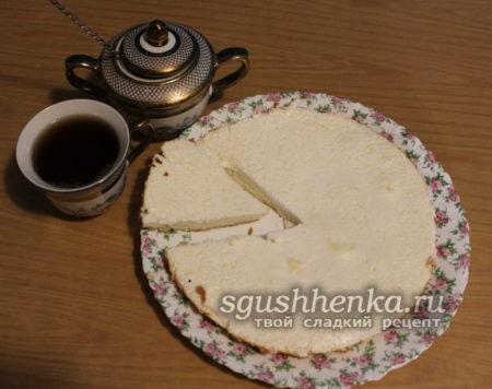 торт-суфле без муки