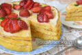 вкусный торт на завтрак