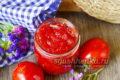 Варенье из красных помидоров