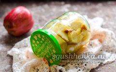 вкусная заготовка из яблок