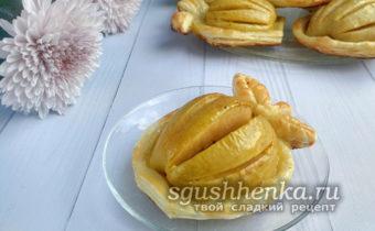вкусный яблочный десерт