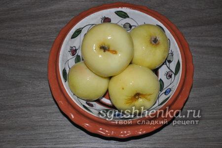 моченные яблоки на зиму