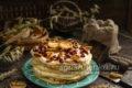 вкусный торт с творогом