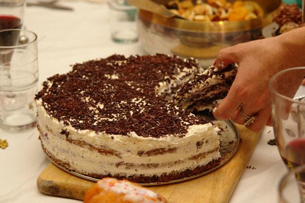 3) Торт на скорую руку