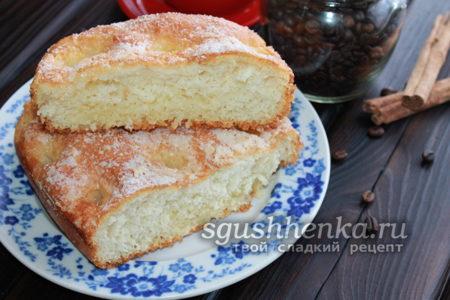 сладкий пирог к чаю, вкусно и быстро