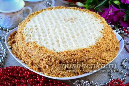 торт медовик на праздник