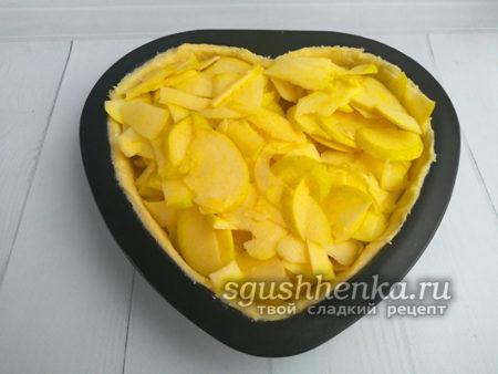 яблоки отправить в пирог