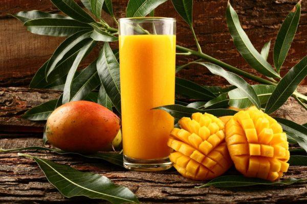 Как есть манго