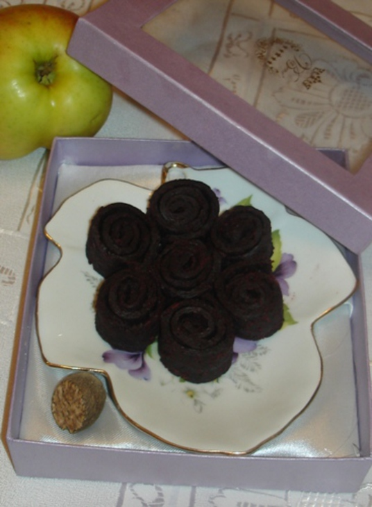 Яблочный мармелад со свеклой бордо