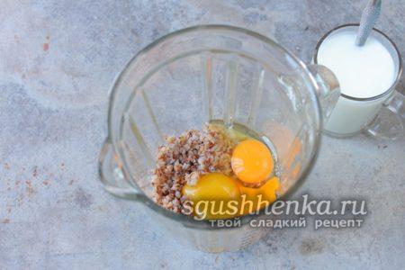 гречка с яйцами