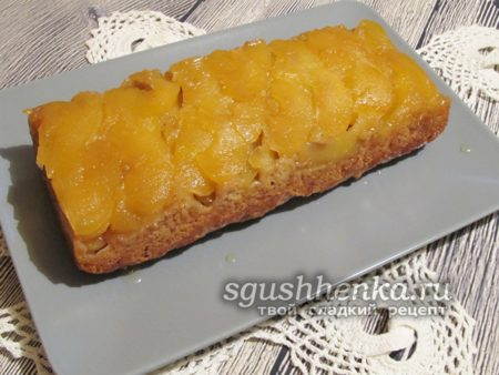 постный, вкусный яблочный пирог