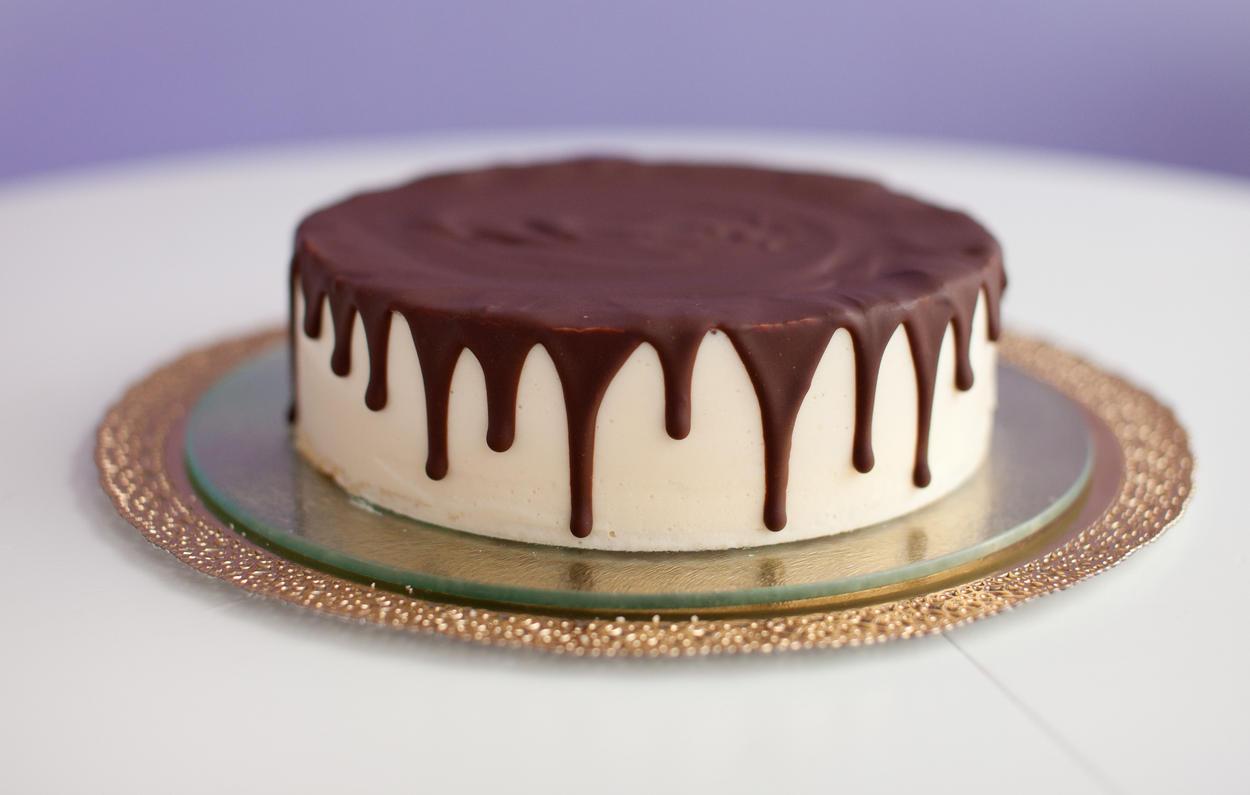 Шоколадные подтеки на торте как сделать в домашних условиях