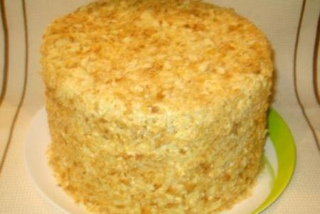 сложить и украсить торт
