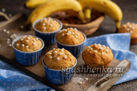 кексы с бананами