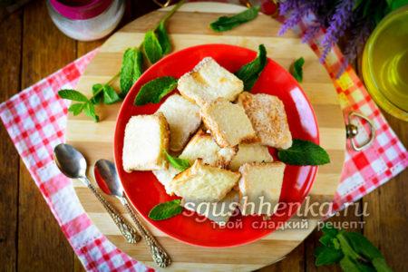 десерт из черствого хлеба
