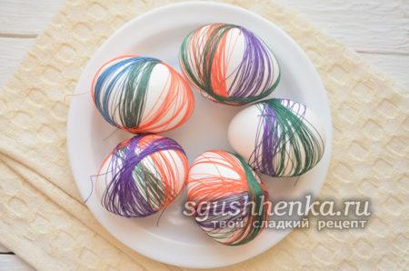 нитки и яйца