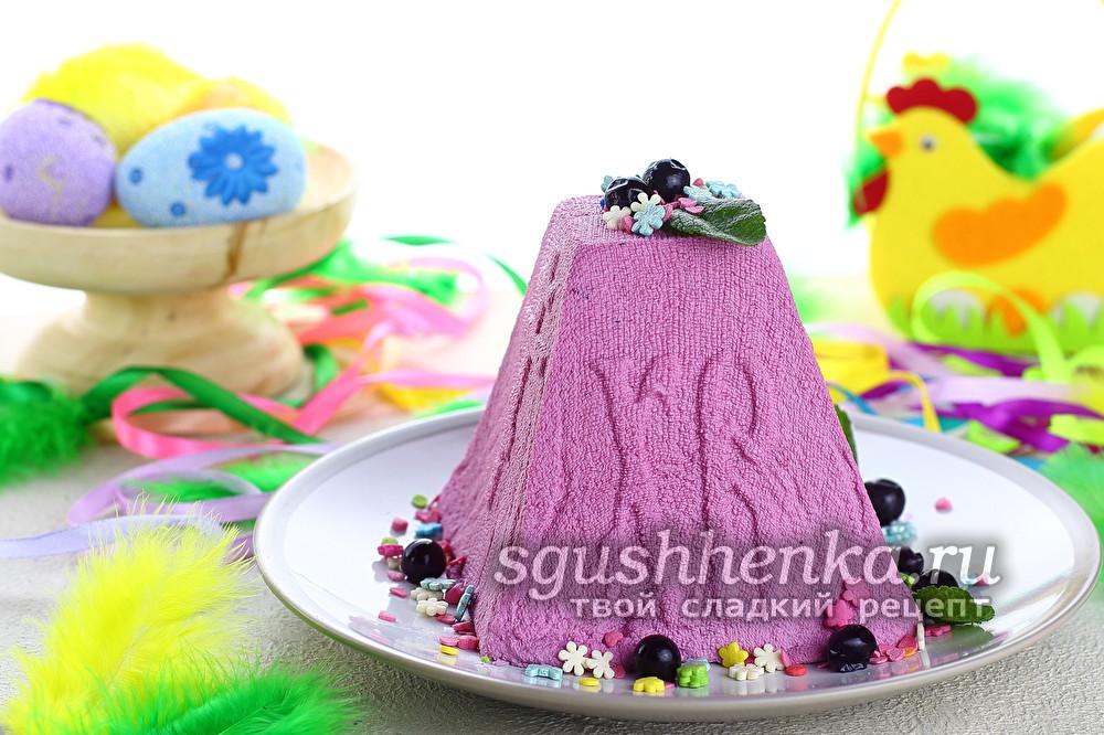 вкусный пасхальный десерт
