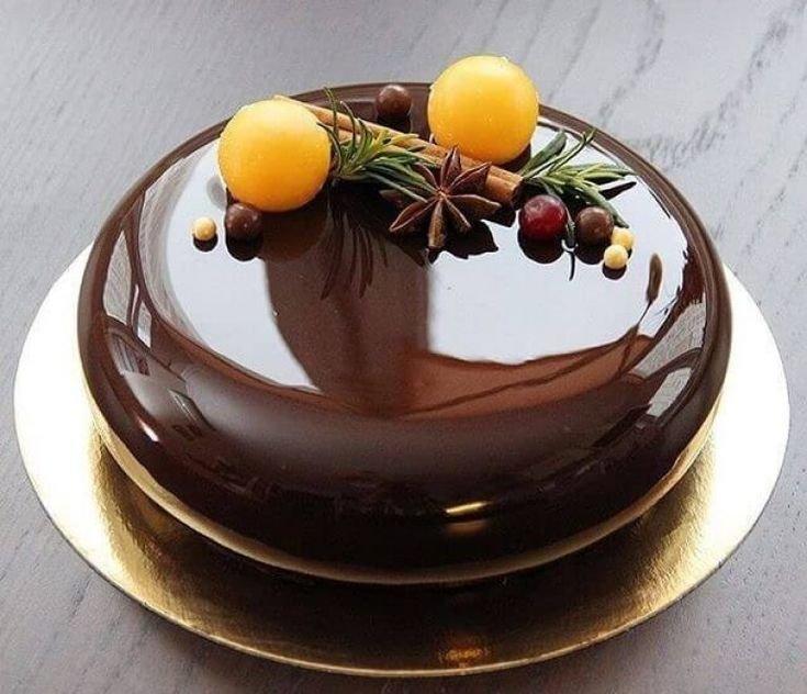 Шоколадная глазурь для торта из какао, хорошо застывающая, как приготовить, рецепт с фото