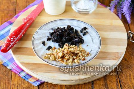 орехи чернослив