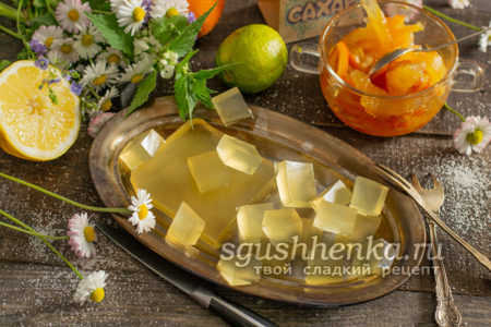 мармелад из лимонного сока