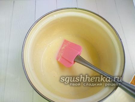 помешивать кашу