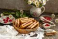 вкусное печенье с малиной