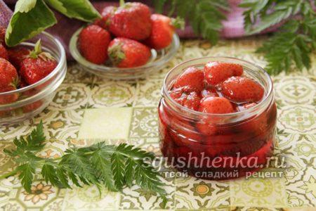 Варенье из клубники на зиму, густое, с целыми ягодами, без варки - пошаговый рецепт с фото