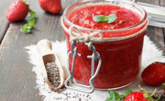 Клубника без сахара на зиму - рецепты с фото