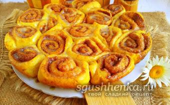 ароматные булочки Синнабон