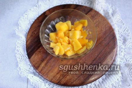 манго нарезать