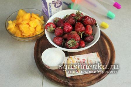 ингредиенты для мороженого