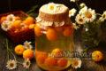 ароматный компот из абрикосов
