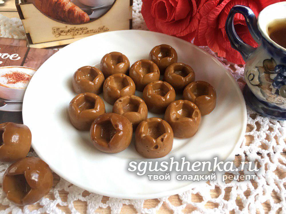 карамельные конфеты Коровка
