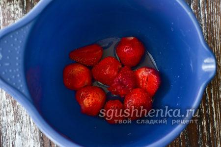 отделить ягоды от зеленых хвостиков