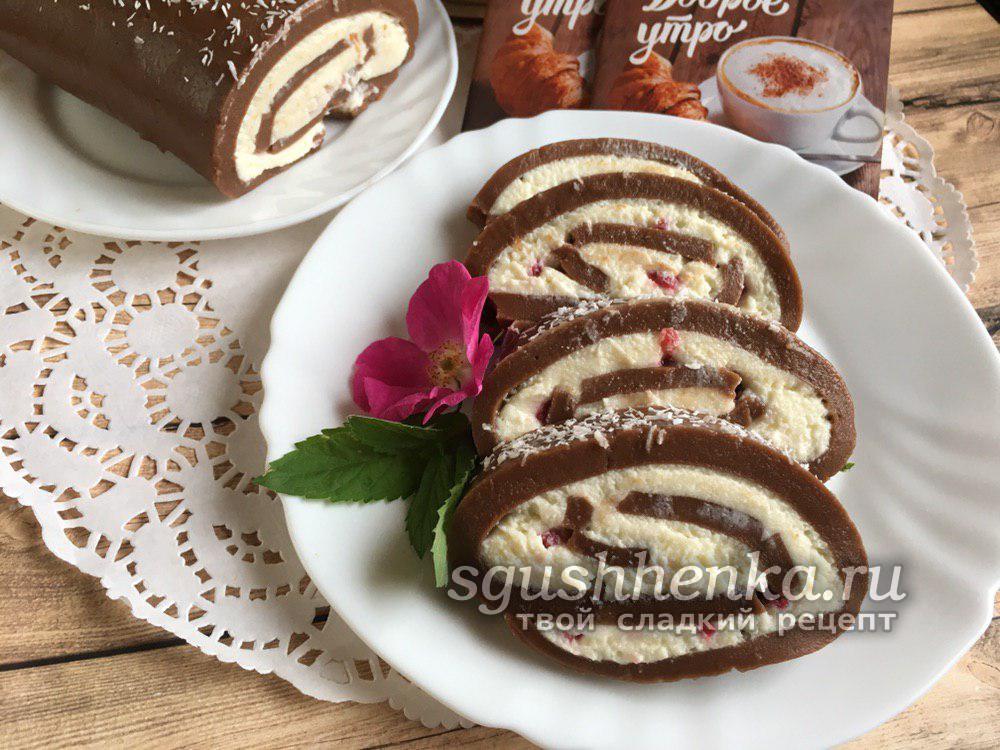 десерт без выпечки Невесомый
