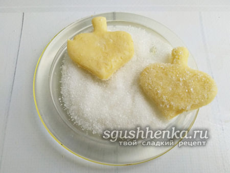 обвалять в сахаре