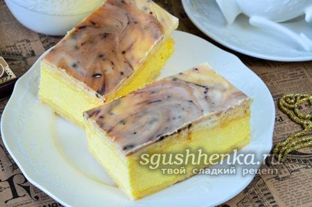 вкусное пироженое