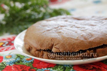 установить верхнюю часть торта