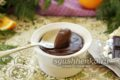 бархатный пудинг из темного шоколада