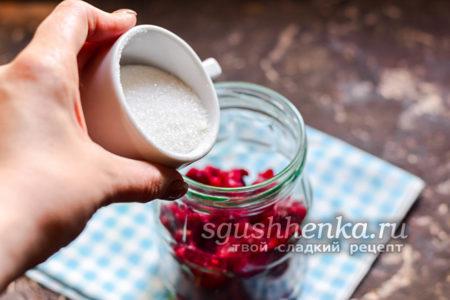 всыпать порцию сахарного песка