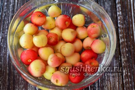 помытые ягоды