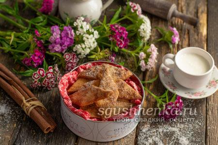 хрустящее печенье в духовке