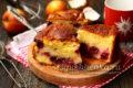 простой быстрый вишневый пирог