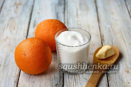 ингредиенты для цукатов