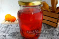 вишнево-абрикосовый компот на 1 литровую банку