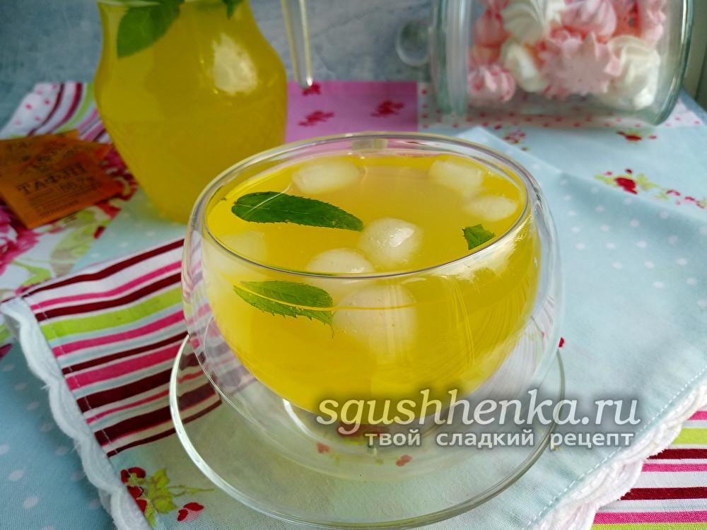 компот из апельсинов и лимонов, как в столовой